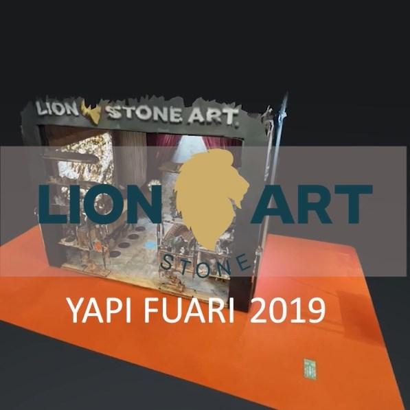 Lion Stone Art İstanbul Yapı Fuarı 2019 - I