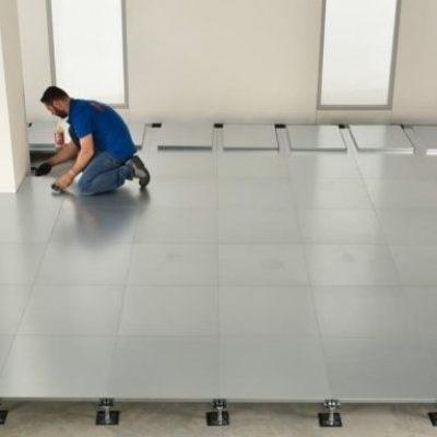 Raised Access Floor   Encapsulated Steel Panel - 2