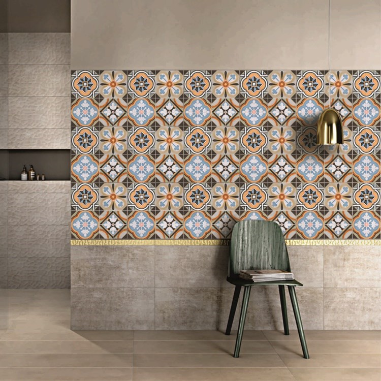 Patterned PVC Tile