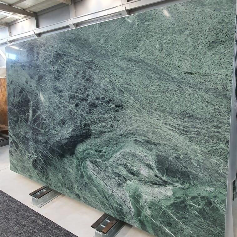 Polished Marble Slab | Amazon Green - 1