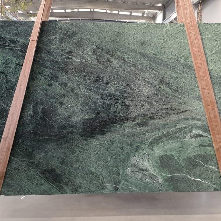 Polished Marble Slab | Amazon Green - 2