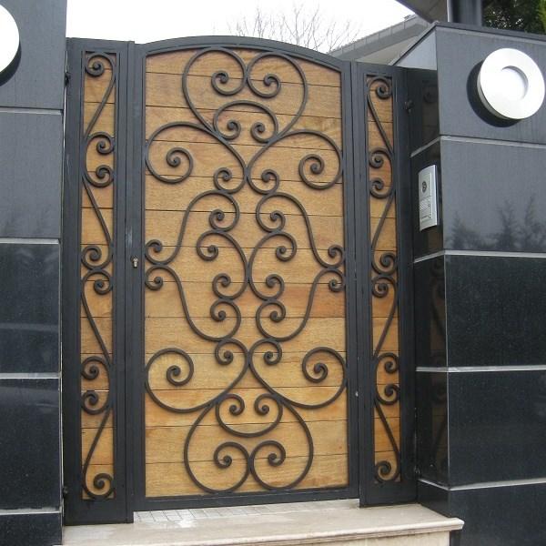 Wrought Iron Gate - 0