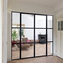 Jansen Art'15 Çelik Profilden İç Mekan Kapı ve Sabit Cam Bölme