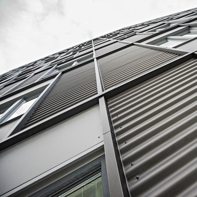 Titanium Zinc Roof and Facade SINUS®