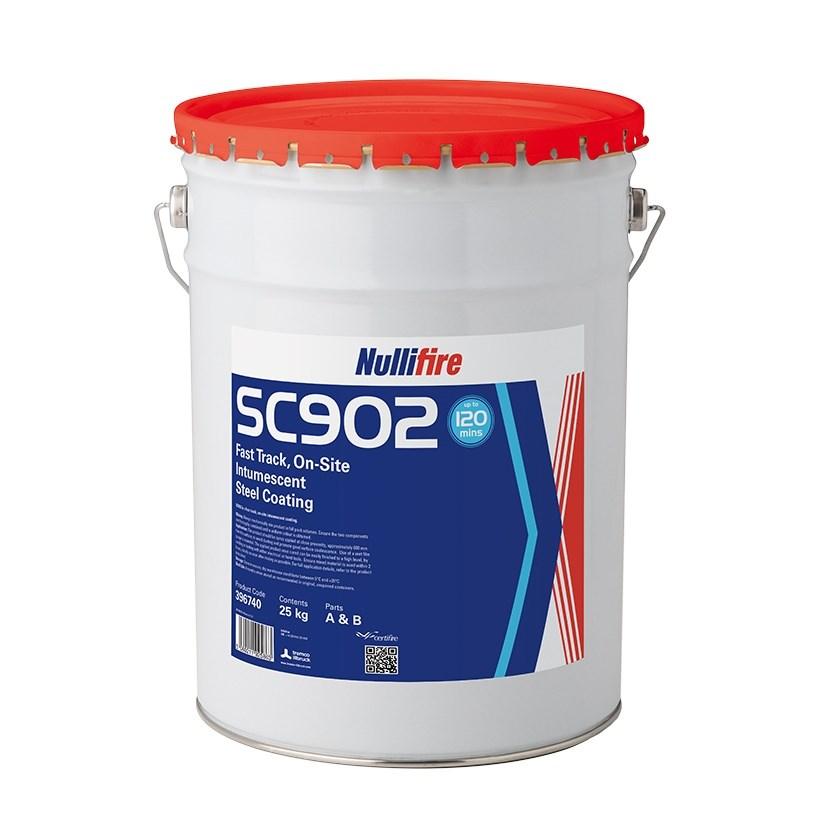 Yangın Koruyucu İntümesan Çelik Kaplama | SC902
