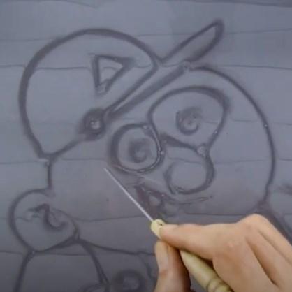 Create Art on the Floor with Sika Comfortfloor® Marble FX!