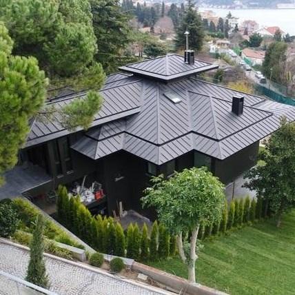 VMZINC Titanyum Çinko Çatı Kaplamaları