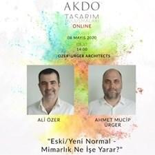 Webinar | Tasarım Buluşmaları | Ali Özer & Ahmet Mucip Ürger