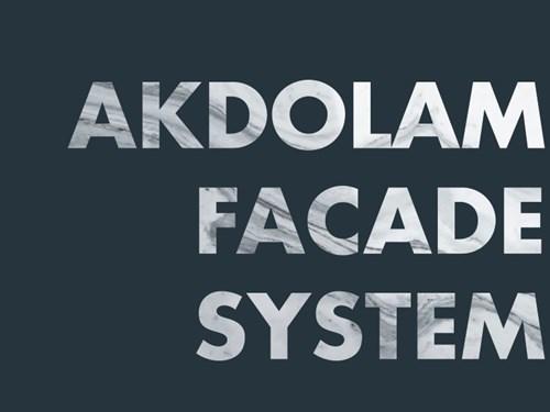 AKDOLAM Cephe Sistemi Kataloğu