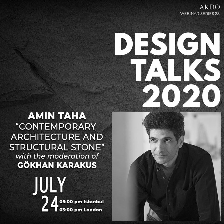 Webinar | Tasarım Buluşmaları | Amin Taha