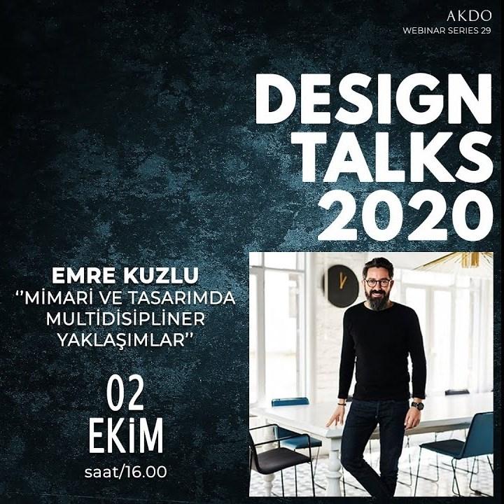 Webinar | Tasarım Buluşmaları | Emre Kuzlu