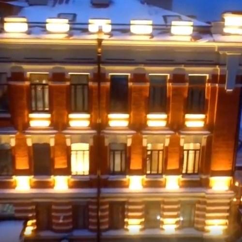 Fiberli Rusya Shamovskaya Otel Işıklandırması