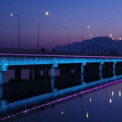 Boğaçayı Köprüsü Işıklandırması