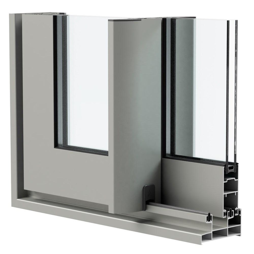 SLA 76 - Hinged Door and Window System