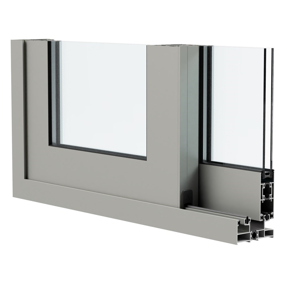 SLAT 83 - Insulated Hinged Door and Window System