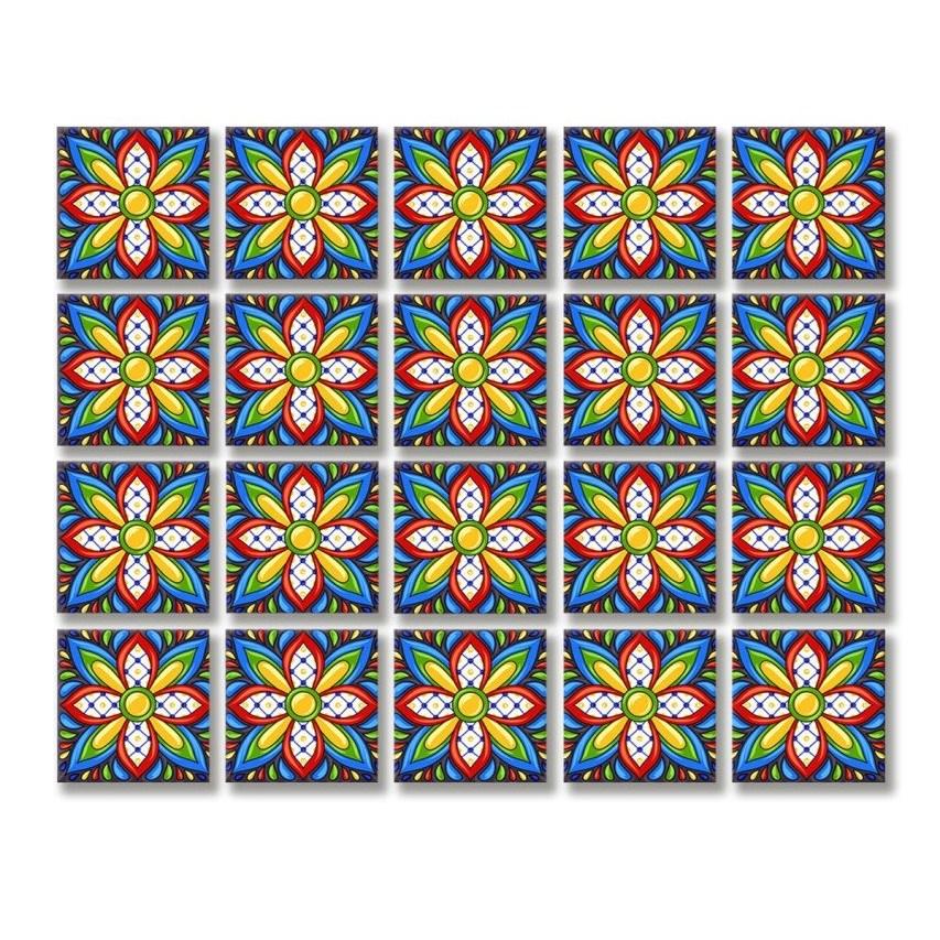 Meter Pattern PVC Tile