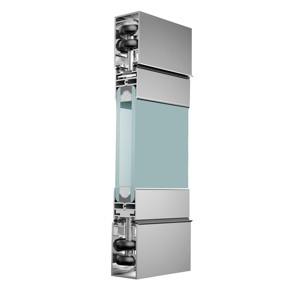 ICB40 Katlanır Isıcamlı Cam Balkon Sistem