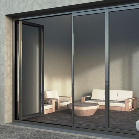 ICB40 Folding Insulating Glass Balcony System - 0
