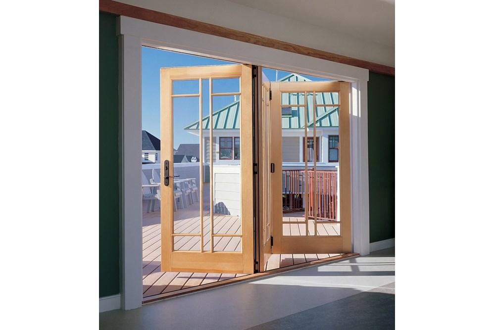 Wooden Winged Door System - 17