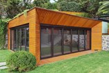 Wooden Winged Door System - 9