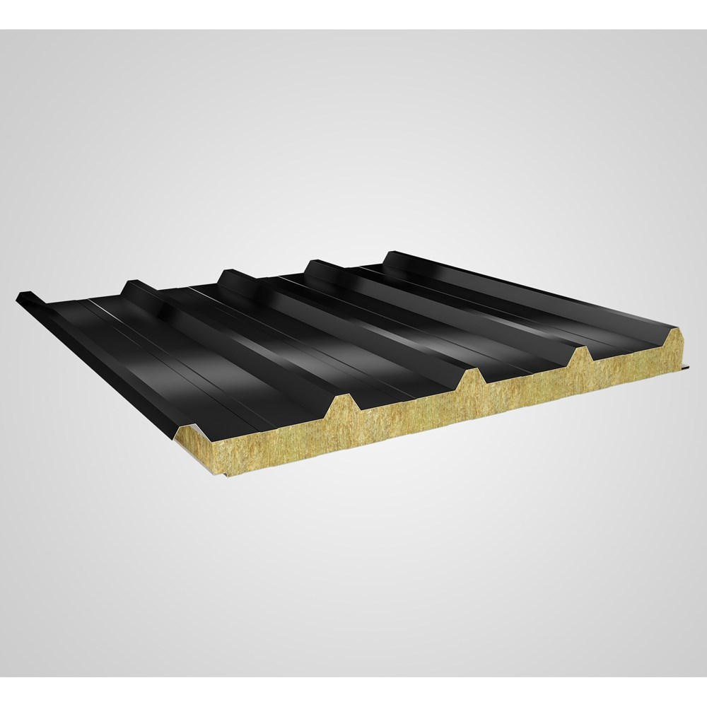 Rock Wool Insulated Sandwich Roof Panel