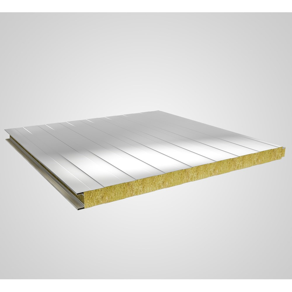 Rock Wool Insulated Sandwich Wall Panel