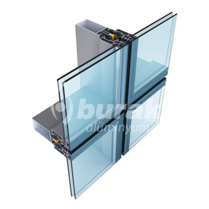 Aluminium Curtain Wall Systems | AG 50