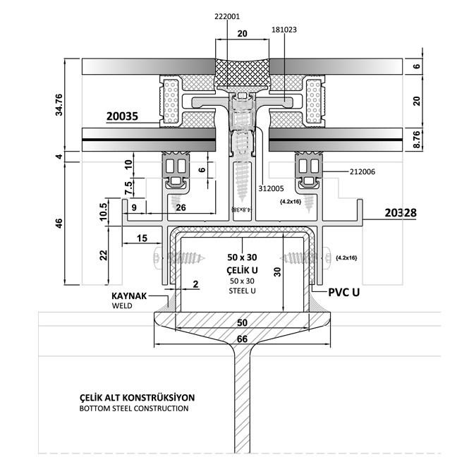 Facade Skylight System | BG 60 SKY