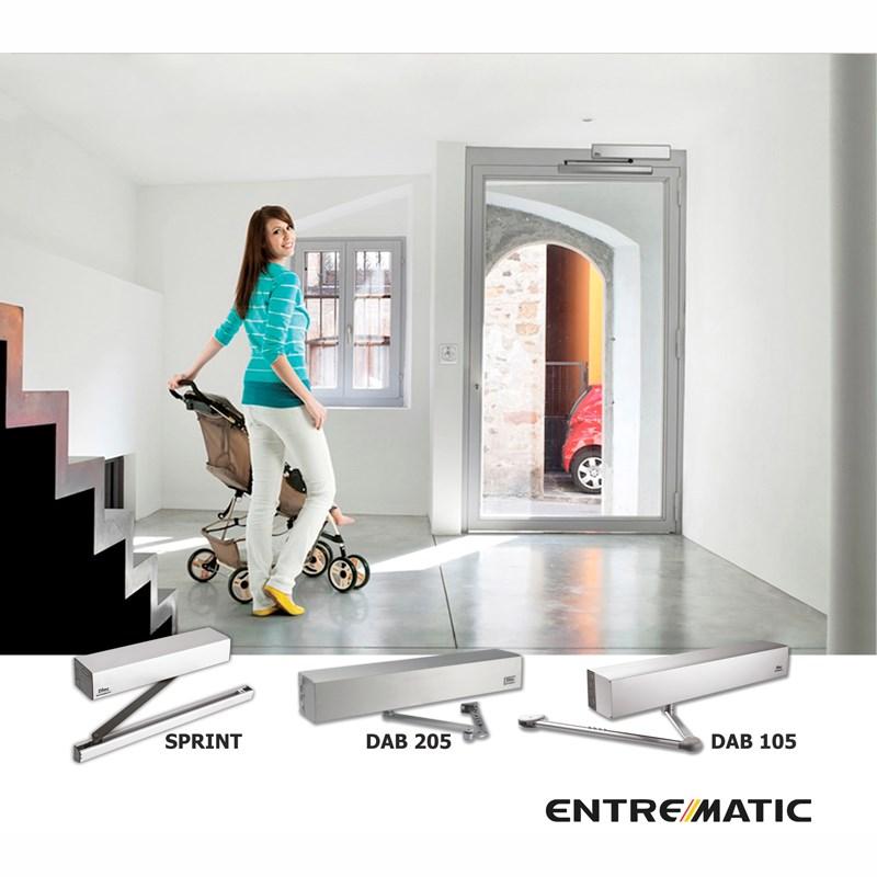 90˚ Automatic Doors