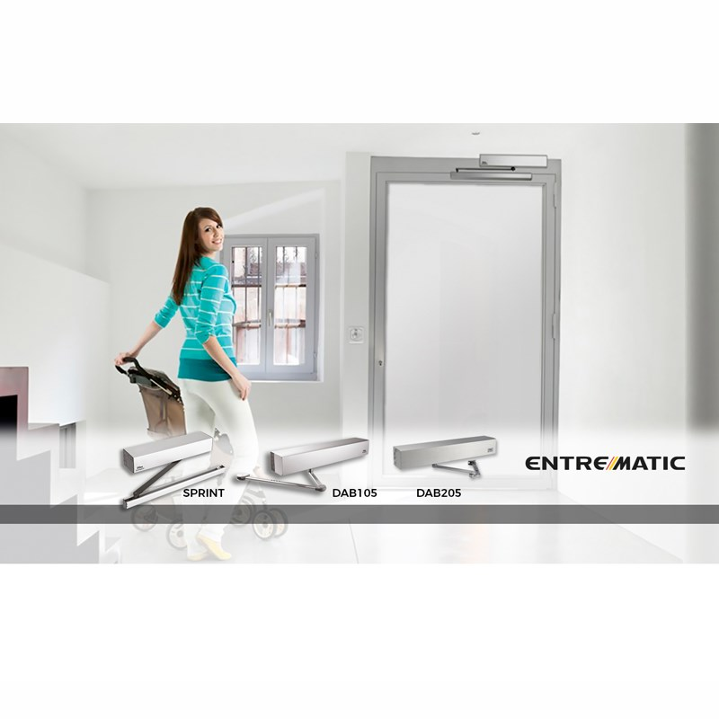 90˚ Automatic Doors  - 1