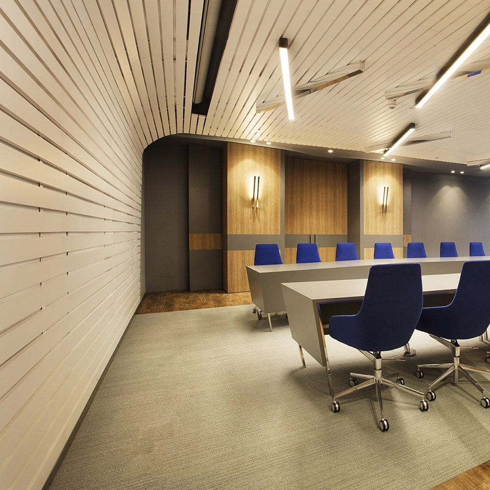 Wooden Suspended Ceiling and Wall Systems