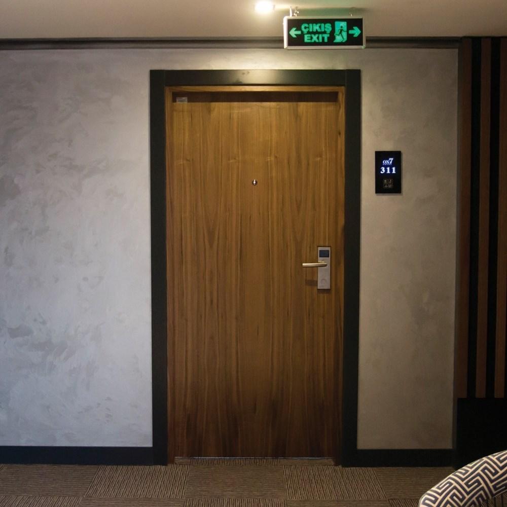 Fire Resistant Wooden Hotel Door
