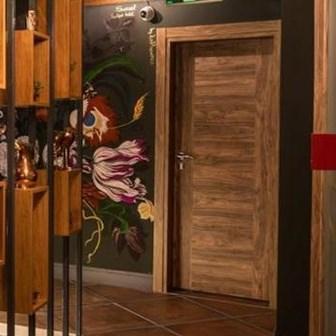 Fire Resistant Wooden Hotel Door - 11