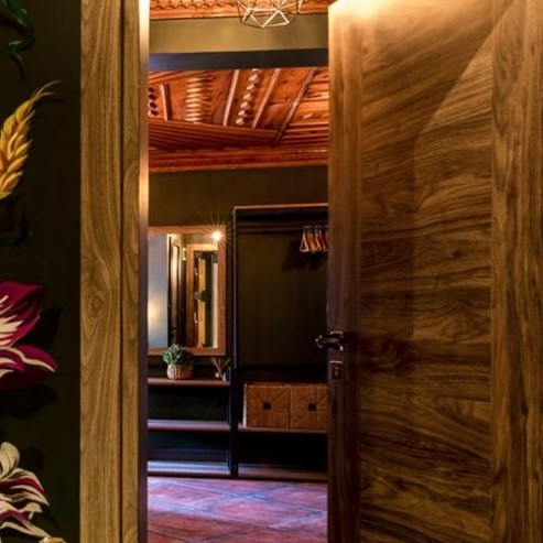 Fire Resistant Wooden Hotel Door - 12