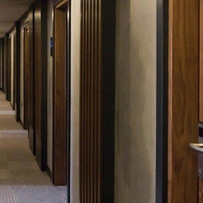 Fire Resistant Wooden Hotel Door - 16