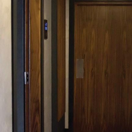 Fire Resistant Wooden Hotel Door - 19