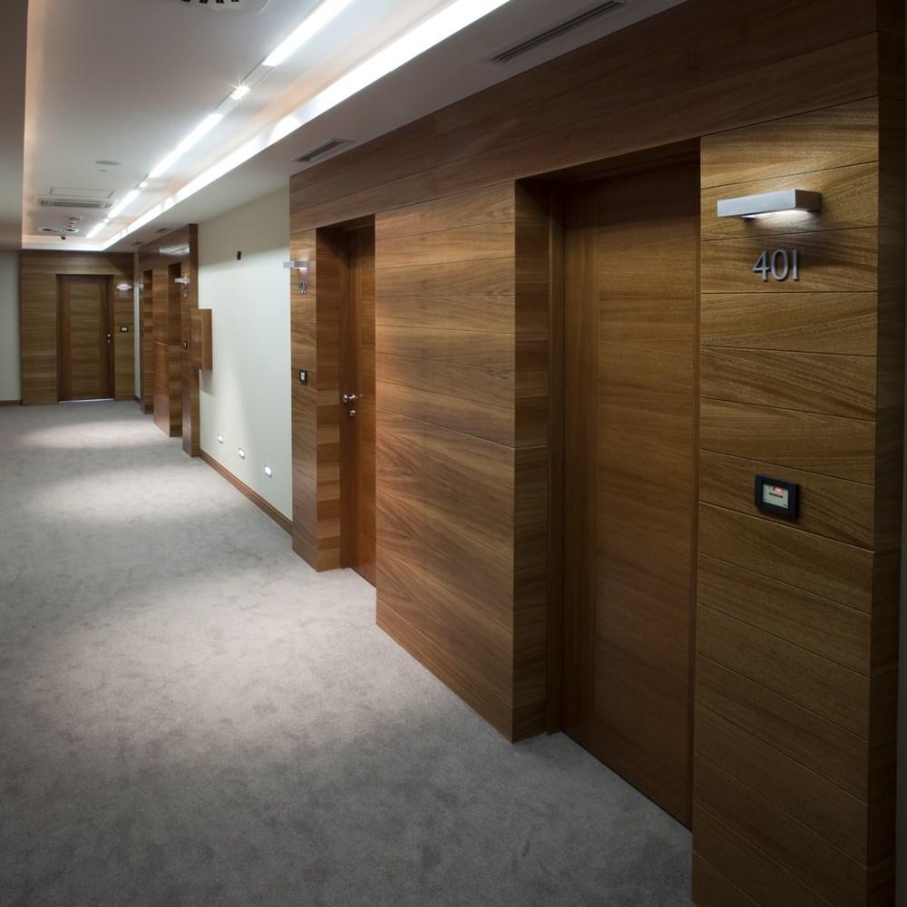Fire Resistant Wooden Hotel Door - 6