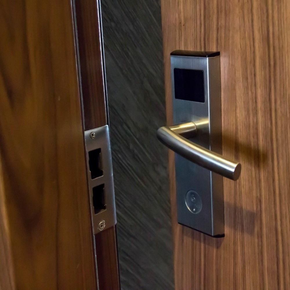 Fire Resistant Wooden Hotel Door - 17