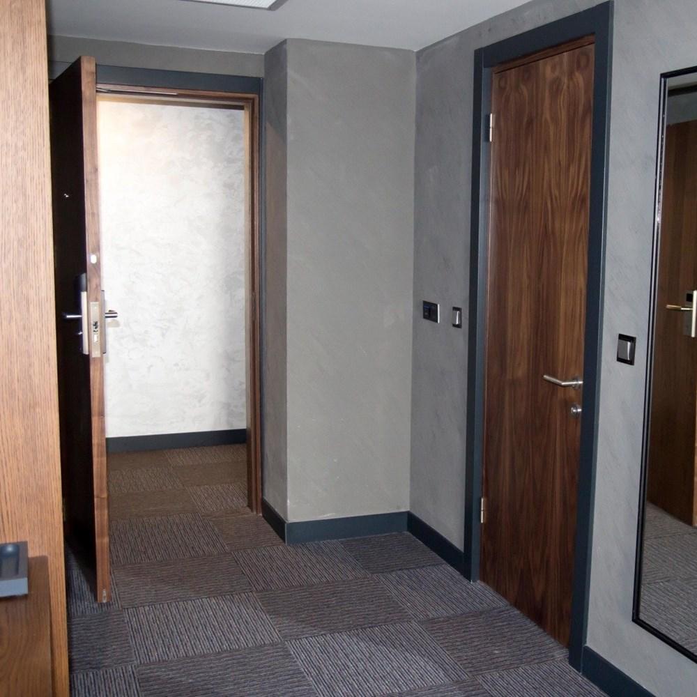Fire Resistant Wooden Hotel Door - 18