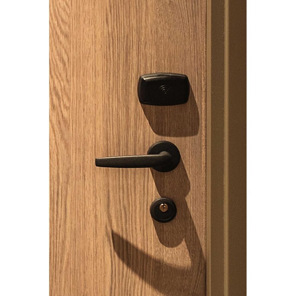 Fire Resistant Wooden Hotel Door - 21