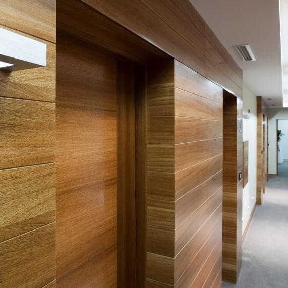 Fire Resistant Wooden Hotel Door - 5