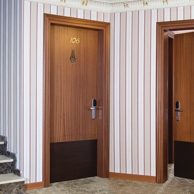 Fire Resistant Wooden Hotel Door - 4