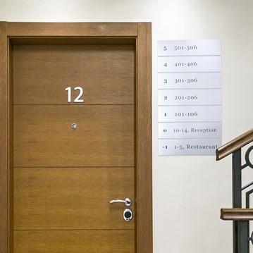 Fire Resistant Wooden School / Dormitory Door - 9
