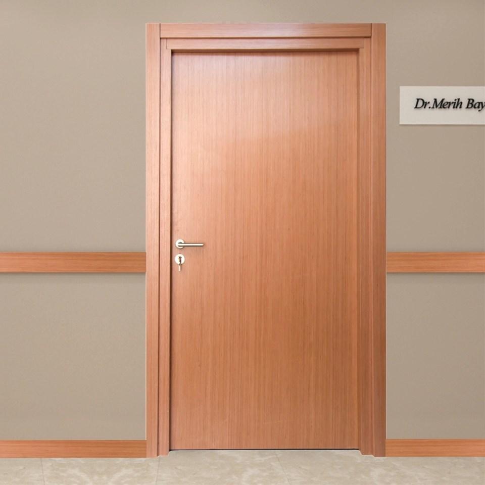Fire Resistant Wooden Hospital Door - 0