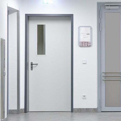 Fire Resistant Wooden Hospital Door - 9