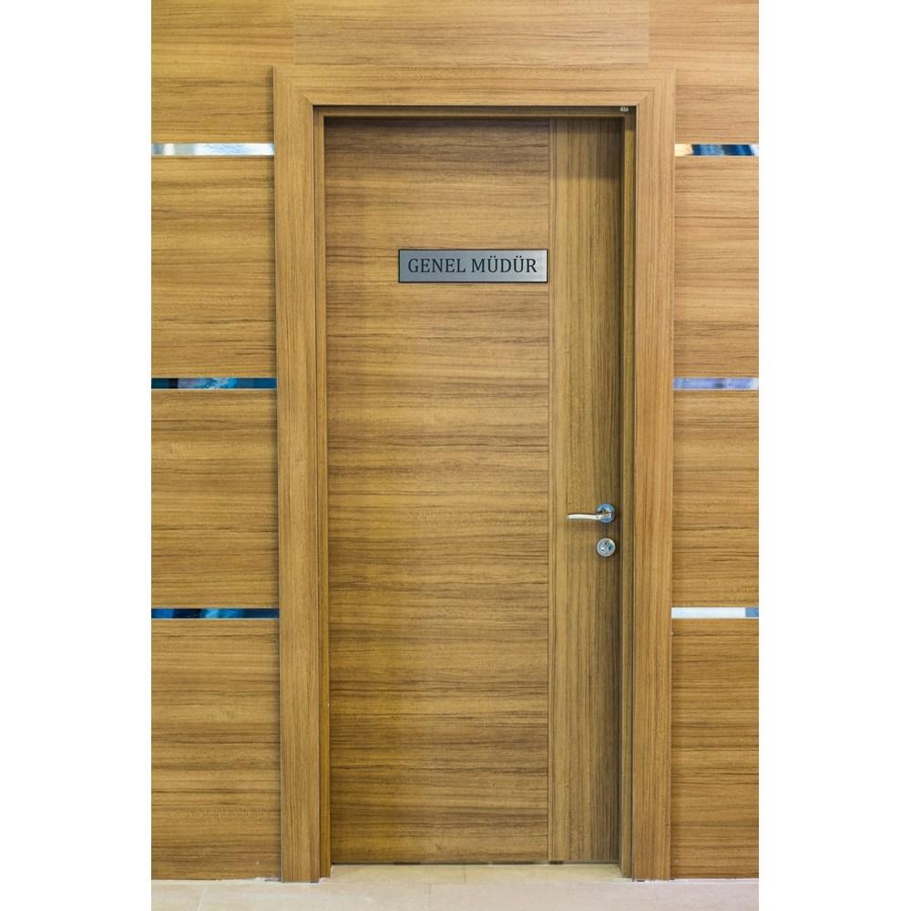 Fire Resistant Wooden Office Door
