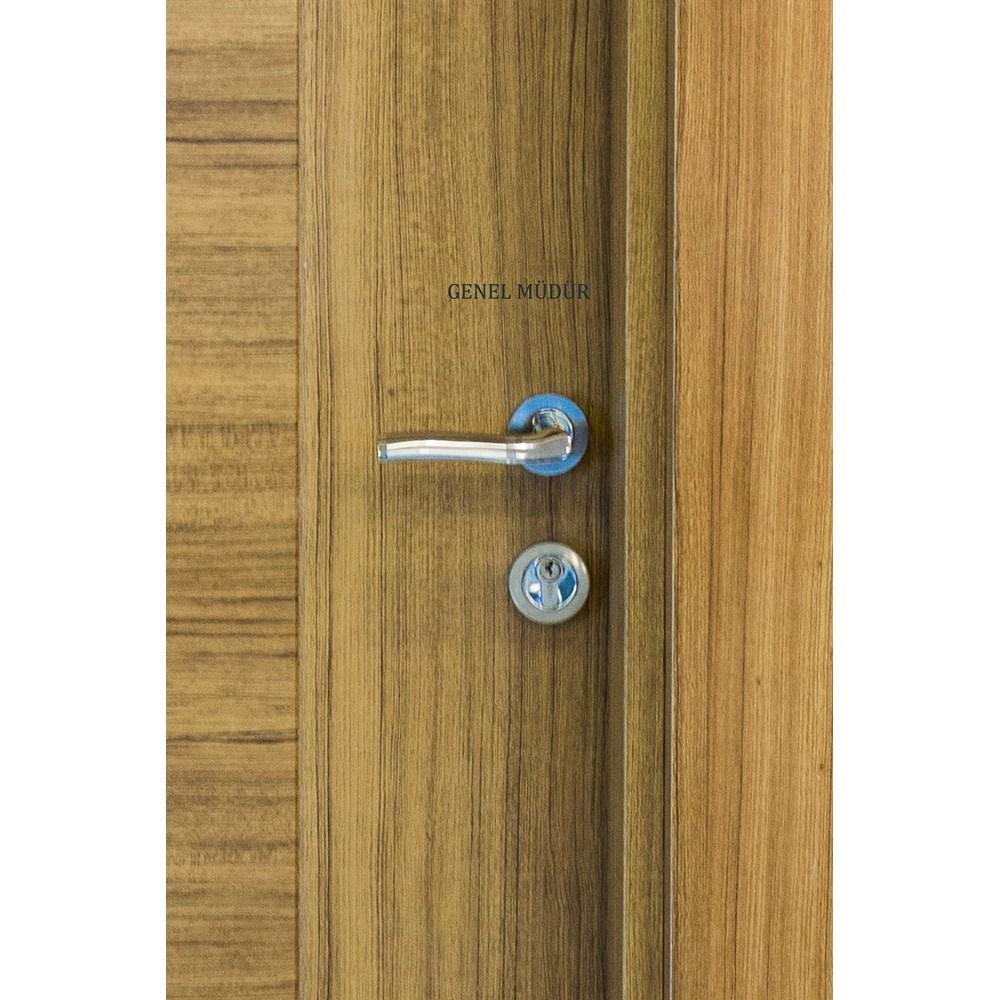 Fire Resistant Wooden Office Door - 0