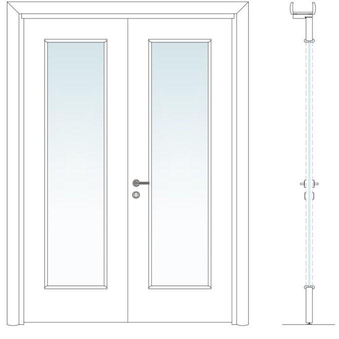 Elda | 2 Winged Glass Door - 3