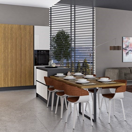Large Family Kitchen - 1
