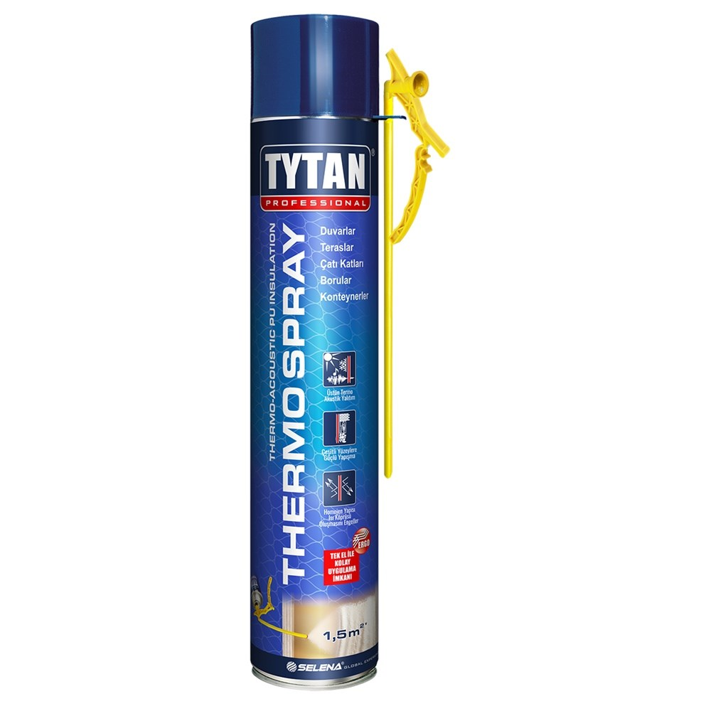 Thermo-Acoustic PU Insulation Foam | Tytan Professional Thermospray